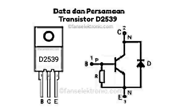 Persamaan Transistor D2539