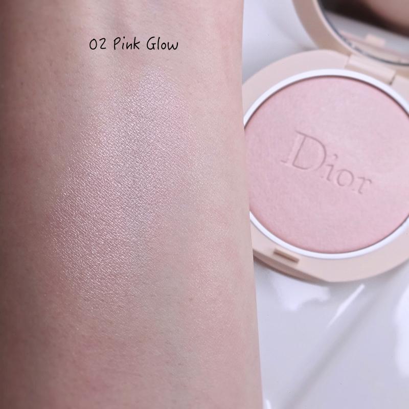 Dior Couture Luminizer Pink Glow (02) swatch