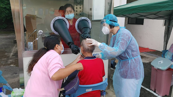 中彰榮家阻斷隱形傳播鏈 未打疫苗每7天一次抗原快篩