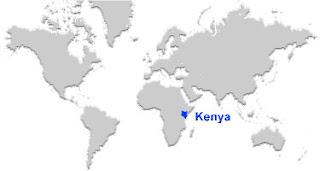image: Kenya map location