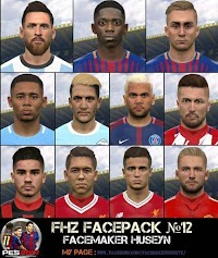 FHZ Facepack No. 12 - PES 2017