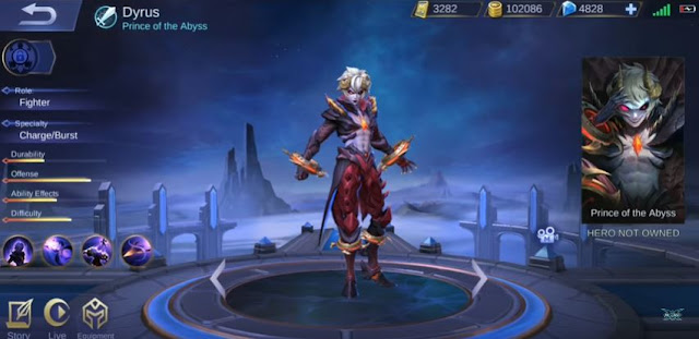 Tanggal Rilis Hero Dyrus di Server Ori Mobile Legends