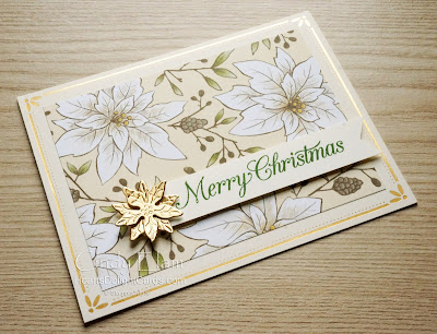 Heart's Delight Cards, Poinsettia Petals, Poinsettia Dies, 2020 Aug-Dec Mini, Gold Cards & Envelopes, Stampin' Up!