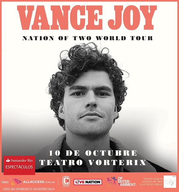 Comenzó la venta de tickets para el show de Vance Joy en Argentina