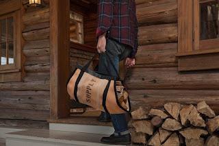 Fire Hose Firewood Carrier
