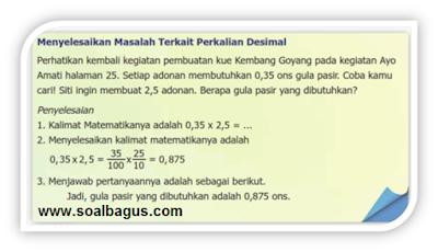 Download File Soal UTS/ PTS Kelas 5 Matematika dan Kunci Jawaban Semester 1/ Ganjil Kurikulum 2013, KTSP