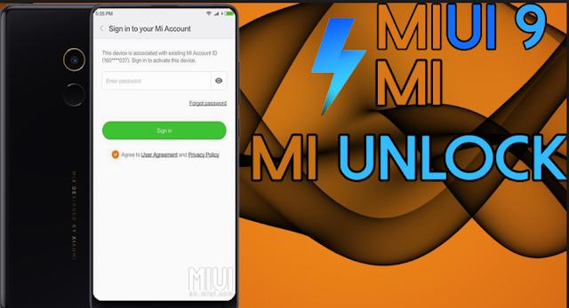 MIUI 9 : Cara Bypass Mi Account Miui 9 di Semua Perangkat Xiaomi