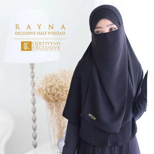 new launch qe half purdah rayna qibtiyyah exclusive kl niqab
