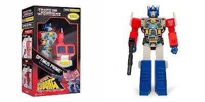 Transformers Super Cyborg Optimus Prime G1 Edition Action Figure by Super7