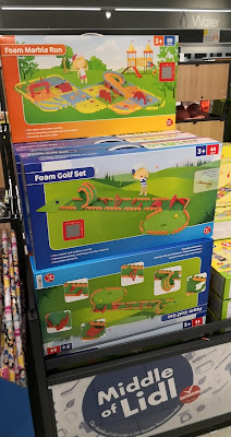 Foam Golf Set in the Middle of Lidl. Photo by Christopher Gottfried, June 2020