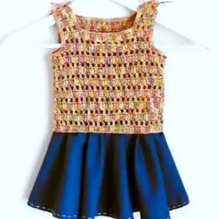 Vestido de Niña Crochet