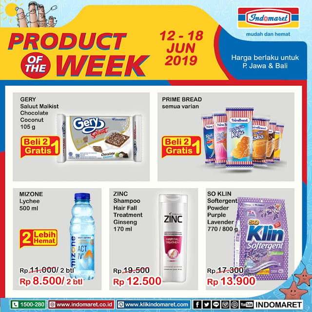 #Indomaret - #Promo #Katalog Produk Off The Week Periode 12 - 18 Juni 2019
