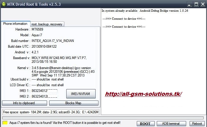 android Xrom: MTK Droid Tools v2 5 3 - Latest Version