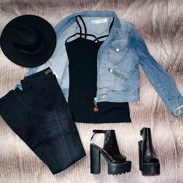 3 stylizacje ze sklepem Bonprix | Flat Lay Outfits