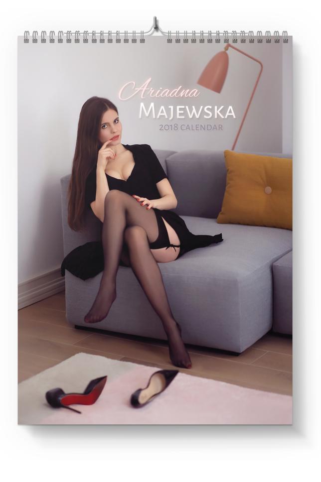 2018 Calendar by Ariadna Majewska - Pre-ordering