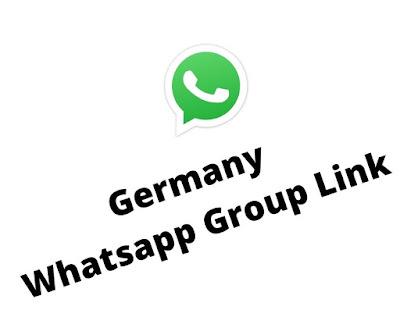 Germany Whatsapp group link