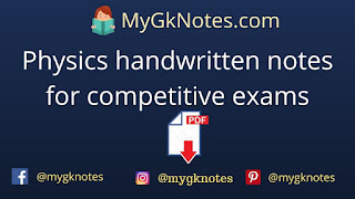 Physics handwritten notes for competitive exams