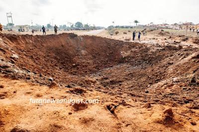 Akure explosion bomb blast