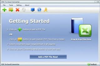 PDF To Excel Converter 4.3 Full Serial Key