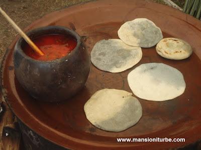 Cocina Tradicional Michoacana y sus Tortillas Bicolores
