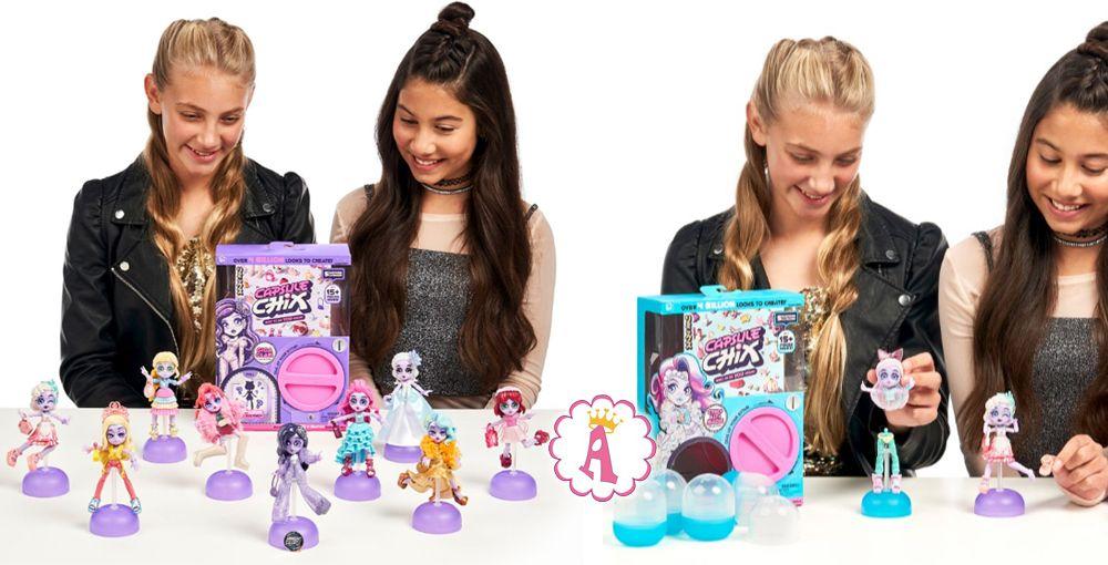 Коллекция куколок Capsule Chix Giga Glam
