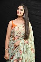 Shyamala Glam in Saree Stills at Kavacham Audio Launch TollywoodBlog