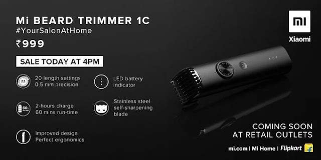 Alat Cukur Jenggot Buatan Xiaomi, MI Beard Trimmer 1C Xiaomiintro