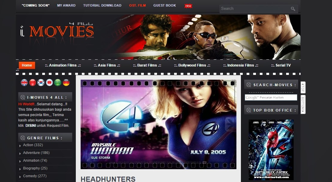 Website streaming film gratis subtitle bahasa indonesia.