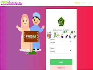 Aplikasi Rapor Digital Bagi Guru