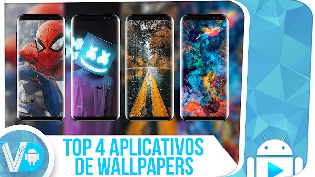 4! 👉 MELHORES APLICATIVOS de WALLPAPERS para Android - PERSONALIZE O SEU CELULAR