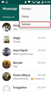 Cara Mematikan Dua Ceklist Biru Di Aplikasi Whatsapp