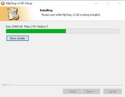 Tunggu proses penginstalan hingga selesai. Jika sudah, klik Next dan klik Finish.