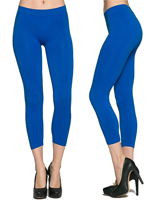 AMAZON - 75% Off High Waisted Capri Leggings