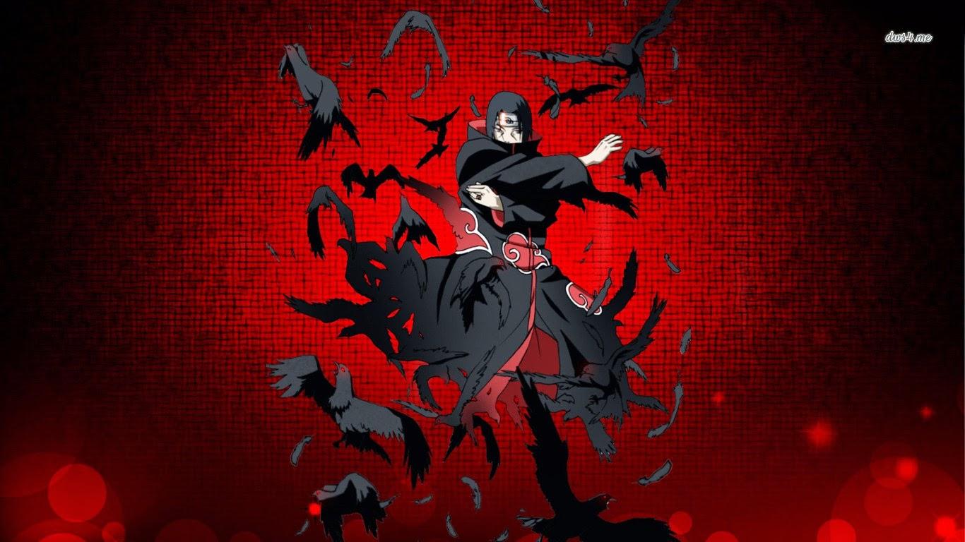19318 itachi uchiha naruto 1366x768 anime wallpaper