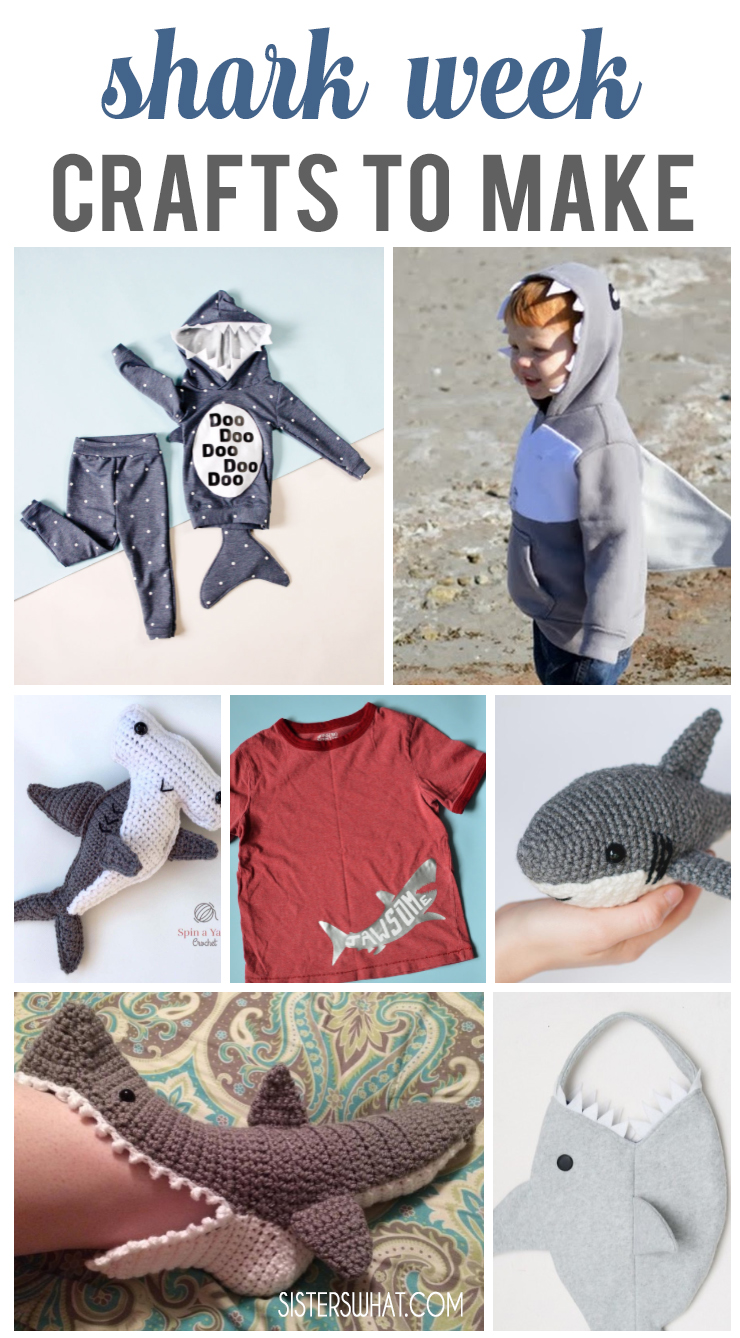 10 shark crafts to make