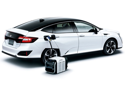 Tinuku.com Honda Motor running Clarity Fuel Cell taxi tests