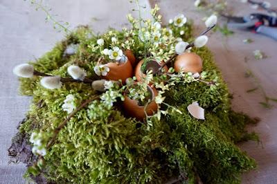 composition végétale de Pâques