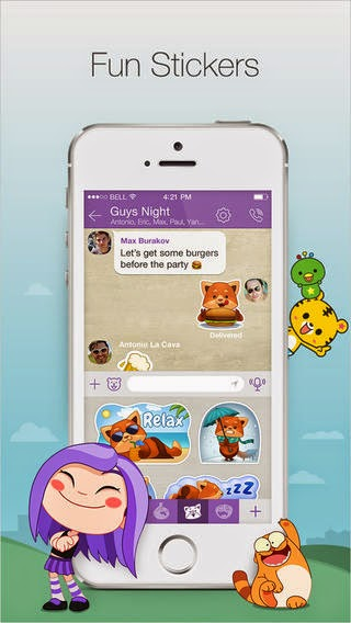 Viber iOS App Updated with a Complet Redisign, Multiple Photos and