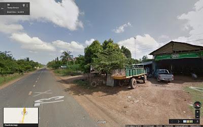 Przerobiona ciężarówka, Kambodża