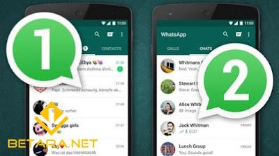 7 Cara Menggunakan 2 Aplikasi WhatsApp di 1 HP Terbaru 2018