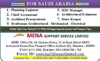 Saudi Arabia jobs Vacancies