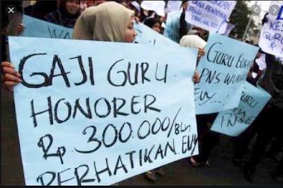 Sabar, Tunjangan Tambahan untuk 1.455 Guru Honorer Sedang dalam Proses
