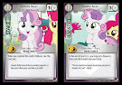 My Little Pony Sweetie Belle, Cutie Mark Crusader Marks in Time CCG Card
