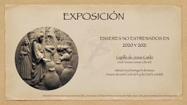 Exposición en la Capilla de Jesús Caído de Cádiz este fin de semana