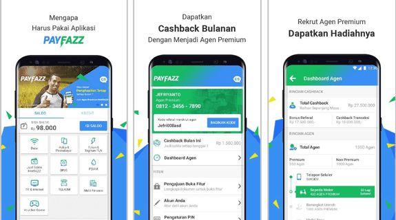 PAYFAZZ Aplikasi Android Jualan Pulsa Terbaik dan Termurah