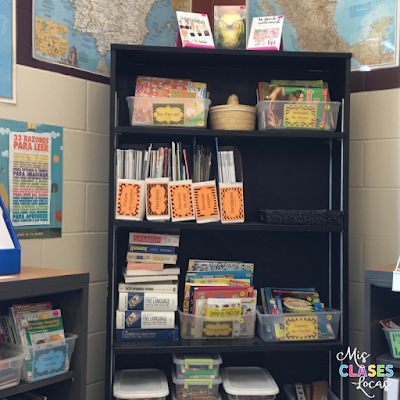 Spanish Classroom Library Tour 2017 - Mis Clases Locas