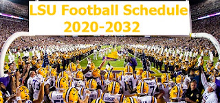 Tigers face Utah in 2031-32 series, LSU Tigers Football Schedule confirmed for Next 13 years through 2020 to 2032.