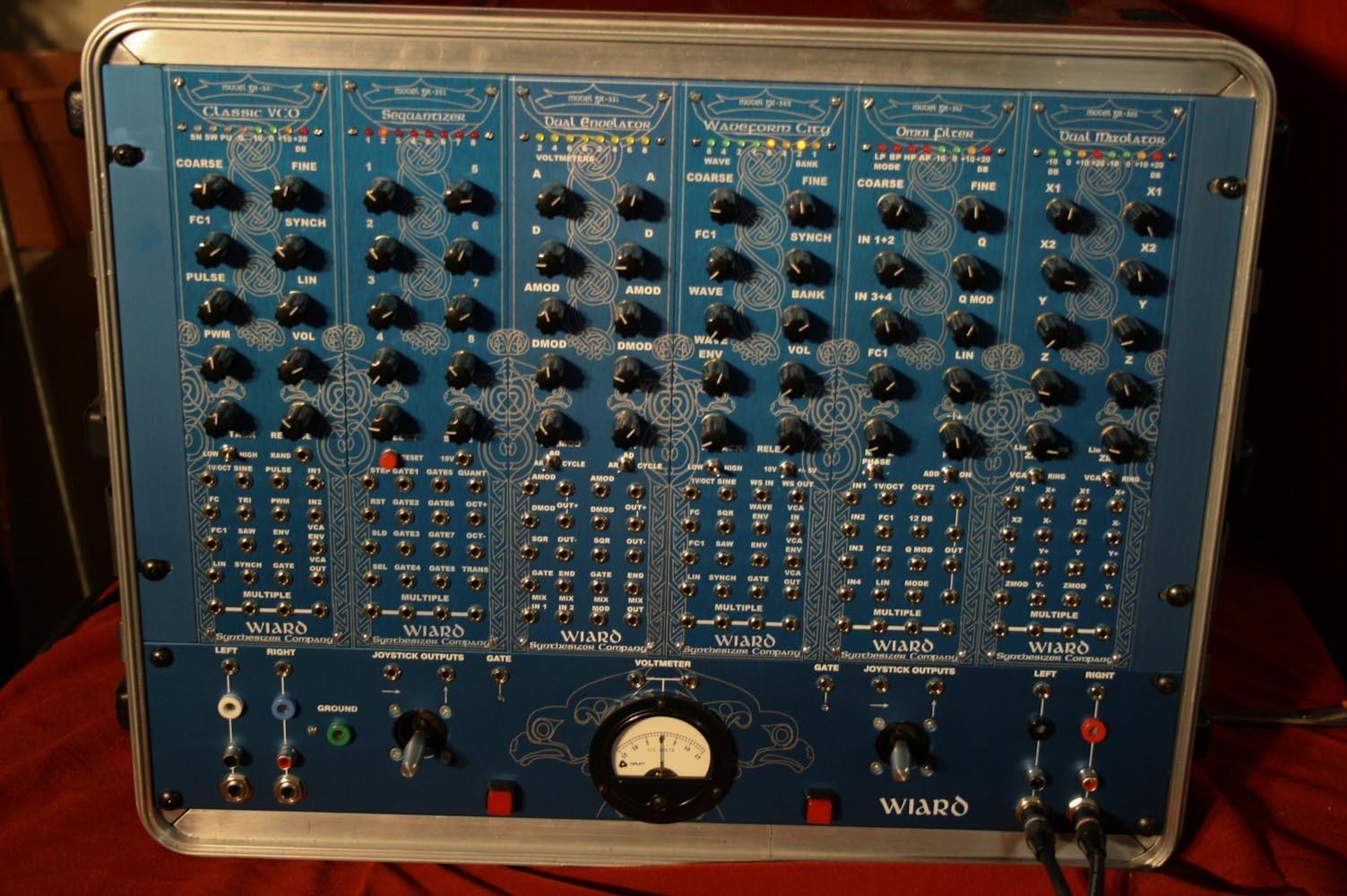 matrixsynth rare wiard series 300 modular synthesizer in 8u skb rack case. Black Bedroom Furniture Sets. Home Design Ideas