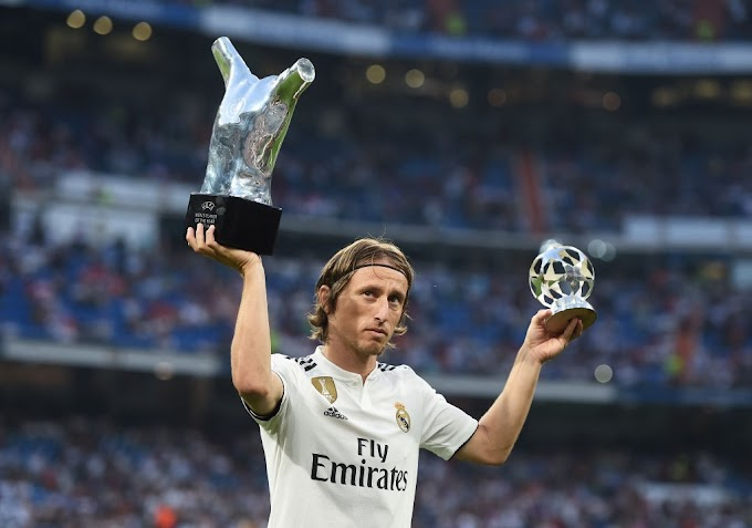 Modric reveals his future at Real Madrid
