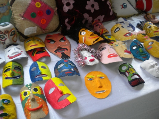 Alanayarts 6sınıflar Mask Seramik çalışmalarımız
